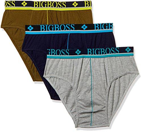 Dollar Bi gboss Men #39;s Cotton Brief  Pack of 3