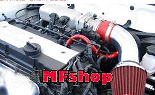 2001 2002 2003 2004 2005 Hyundai Accent 1.6L L4 Air Intake Filter Kit System (Red Filter Accessories)