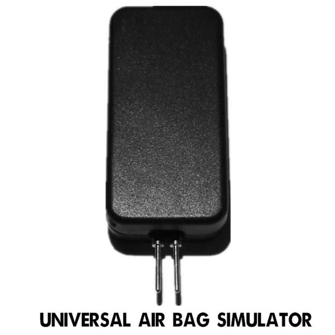 Universal Car Airbag Simulator Emulator Repair Detector Bypass Garage SRS Fault Finding Herramienta de diagnó stico para automó vil Auto Truck Sanzhileg