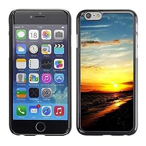 Cubierta de la caja de protección la piel dura para el Apple iPhone 6 (4.7) - Life Is A Series Message