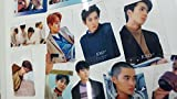 EXO Transparent Card 25pcs 3 x 2 inches, EXO A4 Folder, Quilted Key Holder