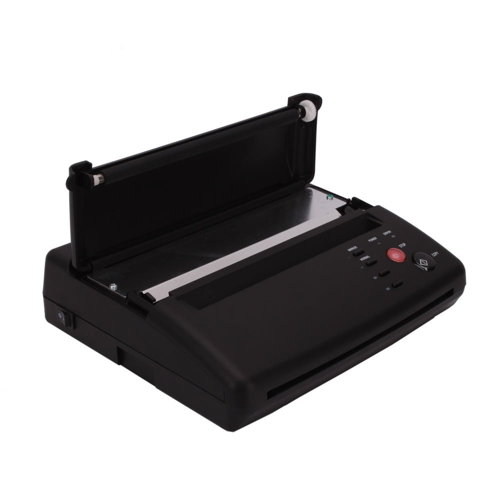 Black Professional Tattoo Transfer Stencil Machine Thermal Copier Printer (#1)