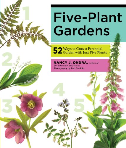 Five-Plant Gardens: 52 Ways to Grow a Perennial Garden with Just Five - Flowers Heys Usa