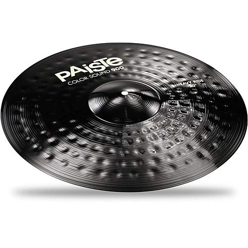 Colorsound 900 Heavy Ride Cymbal Black