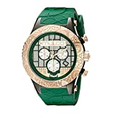 MULCO Men's MW5-2331-473 Couture Analog Display Swiss Quartz Green Watch