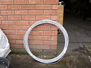 Galvanised Fencing Line Wire - 10kg Coil - 3.15mm (Approx 164mtrs) Free Delivery