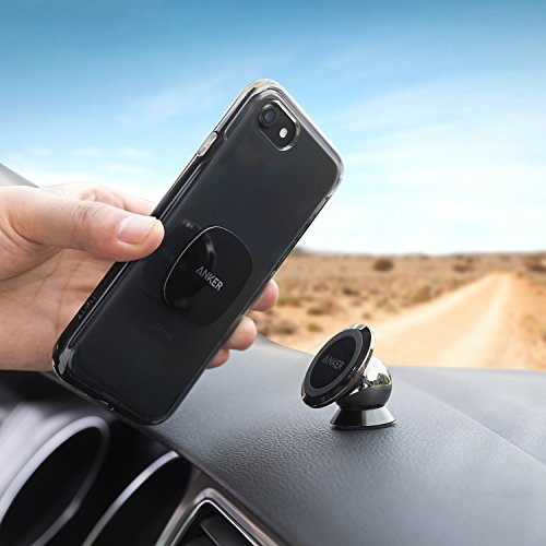 Anker Universal Magnetic Car Mount — Ultra-Compact Phone Holder for iPhone 7 / 7 Plus / 6s / Samsung Galaxy S8 / S7 / S6 and more