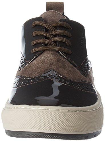 Geox Damen D Breeda B Sneaker Braun (caffè Dk / Castagno)