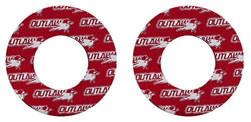 Outlaw Racing PP166R Motorcycle ATV Mx Grip Donuts Donutz Blister Busters Dual Layer CR YZ ()