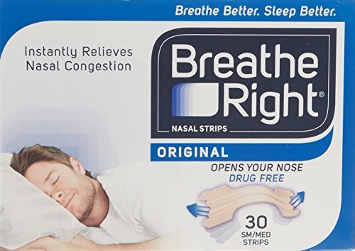 Breathe Right Nasal Srips - Regular, Natural by Breathe Right