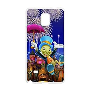 Samsung Galaxy Note 4 phone case White Disney Pinocchio Character Jiminy Cricket RRTY7528841