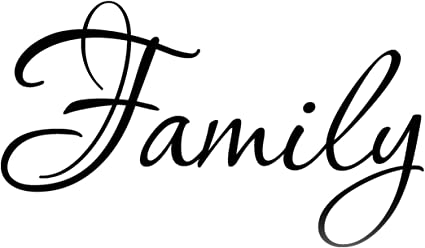 Families are like fudge....Funny Family Quote Words Sayings Removable Home Wall Decal Lettering 12 x 25