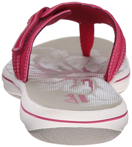 Clarks Womens Brinkley Keeley Flip-flop Fuchsia