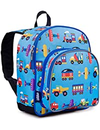 Backpack for Toddlers, Boys and Girls Ideal for Daycare, Preschool and Kindergarten, Perfect Size for School and Travel, Mom's Choice Award Winner, One, Trains, Planes, and Trucks