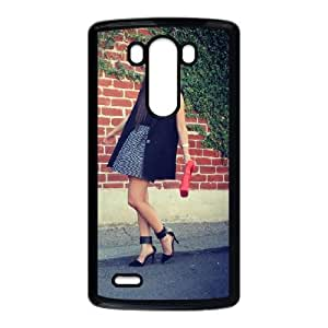 LG G3 cell phone cases Black High-heeled shoes fashion phone cases GFL2854945