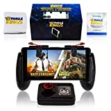 FORTNITE & PUBG Mobile Game Controller, Cellphone Triggers & Joystick, Gamepad & Accessories for Games, Gaming Phone Bundle, for All Age, iPhone & Android, Free – Wristband & Phone Ring