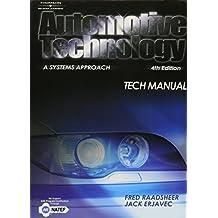 Tech Manual for Erjavec's Automotive Technology: A Systems Approach, 4th