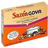 Sazon Goya Con Culantro y Achiote 1.41oz (Pack of 3)