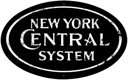 """New York Central /'A/"""" Railroad Heralds Logos Vinyl Decals Sign Stickers Trains"""