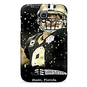 (BcbYCeHC959)durable Protection Case Cover For Galaxy S4(new Orleans Saints)