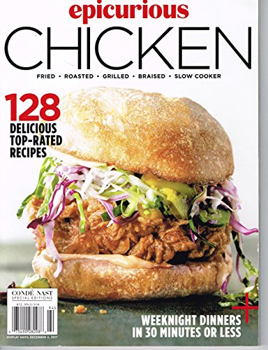 - Epicurious Chicken (128 Delicious Top Rated Recipes )2017 magazine
