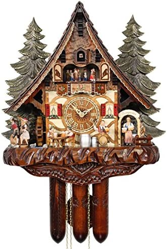 Choose from 2 Sizes! New German Cuckoo Clock Case Replacement Water Wheel