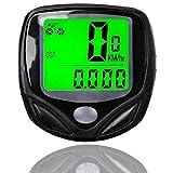 TEKCAM Bike Computer Odometer Wireless Bicycle Speedometer Waterproof Cycling Bike Odometer LCD Display