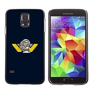 MOBMART Carcasa Funda Case Cover Armor Shell PARA Samsung Galaxy S5 - Face Stung By An Animal