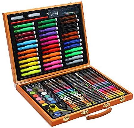 MELLRO Wasser Farbstift Aquarell Stift Malerei Learning Kit Kinder Schreibwaren 150 Stück Zeichnungssatz Geschenke für Kinder (Color : Natural, Size : Free Size)