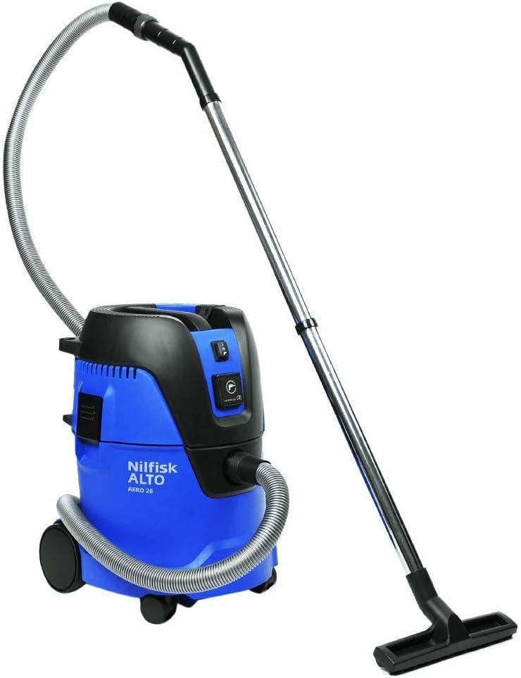 Nilfisk ALTO Aero 26 HEPA – Contractor-Grade Wet Dry HEPA Vacuum w Tool Start