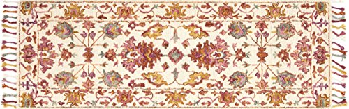 Berry Hooked Rug - Loloi Rugs, Zharah Collection - Berry Area Rug, 2'6