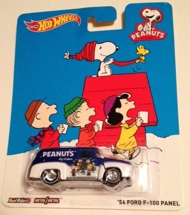 Hot wheels Peanuts '56 FORD F-100 PANEL new for 2014 snoopy peanuts