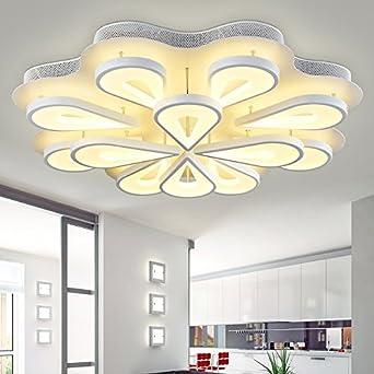 Led Deckenleuchte Mit Wohnzimmer Atmosphäre Decke Beleuchtung Ideen Moderne  Minimalistische Schlafzimmer Lampe Runden Das Wohnzimmer Licht