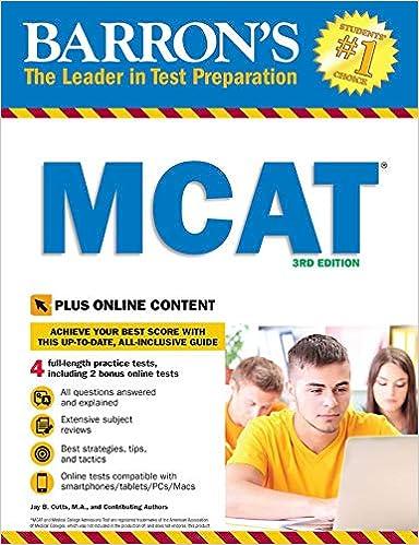 Barrons Mcat With Online Tests 9781438077925 Medicine Health