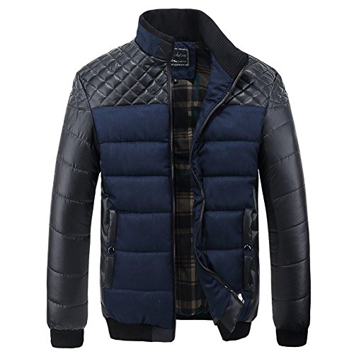 ALiberSoul Collar Cotton Padded Jacket Contrast product image