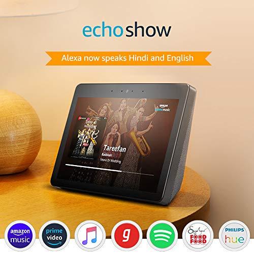Best Echo Show – Premium sound and a vibrant 10.1″ HD screen – Black