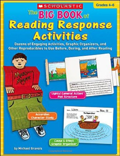 The Big Book of Reading Response Activities: Grades 4–6: Dozens of Engaging Activities, Graphic Organizers, and Other Reproducibles to Use Before, During, and After Reading (Engaging Activities)