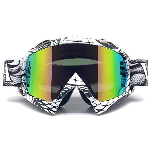 Zdatt Bendable Snow Skiing Snowboarding Goggles,Unisex Motocross Sports Snowmobile Snowboard Ski Goggles Anti Fog Dust UV, Dustproof Scratch-Resistant by ZDATT (Image #7)