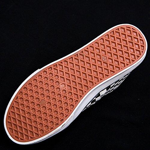 Espadrillas da stile di stile in lavoro 41 di bianco Harajuku tela maschile scarpe coreano Scarpe Black Brown grata basse da uomo Scarpe scarpe moda stoffa di e Color nero Size OqrOg1Tw