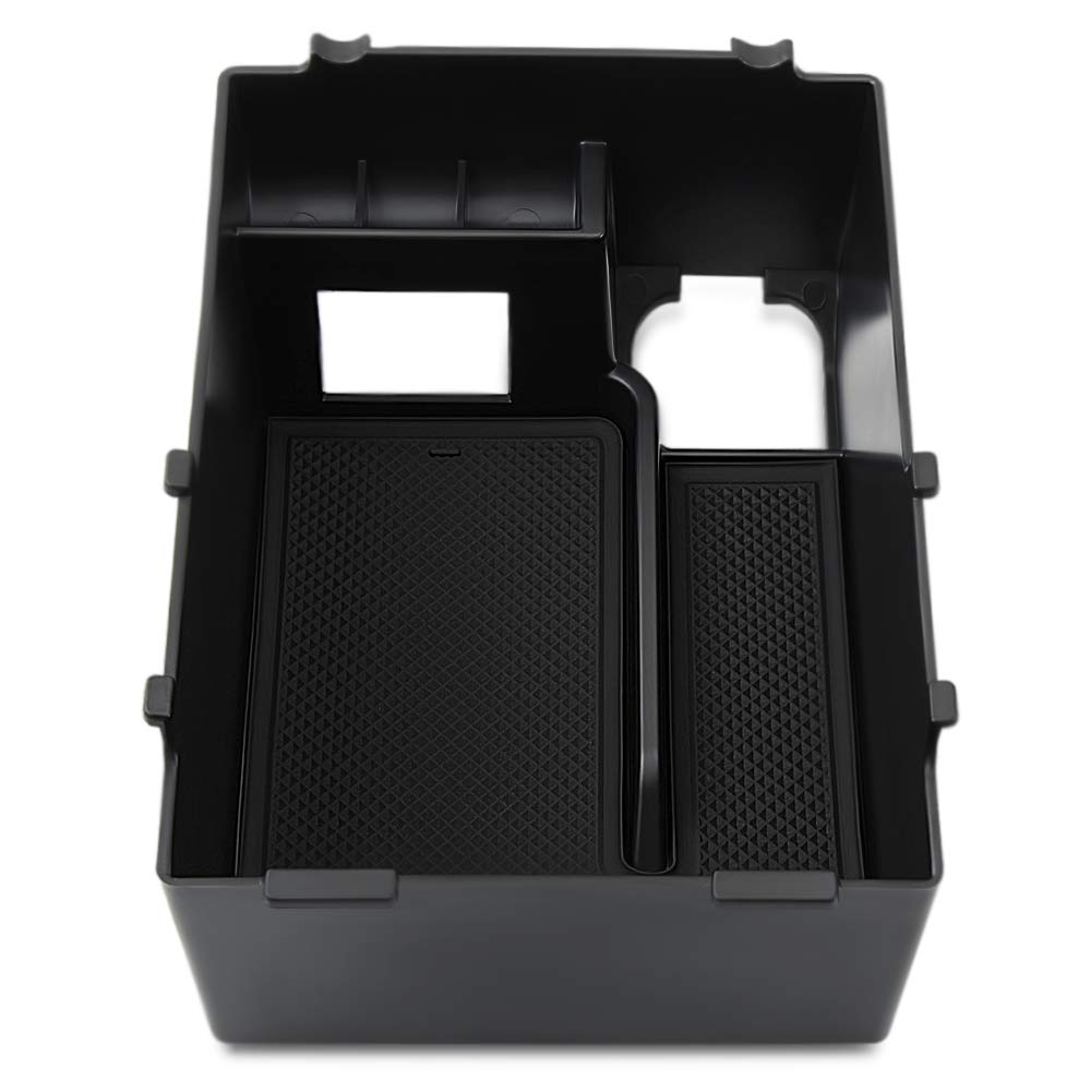 Center Console Insert Organizer Tray For Subaru XV 2018 2019 Interior Decoration Accessories Chompoo 4350414139