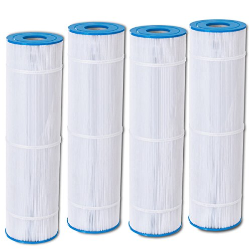 Goplus Pool Filter Replacement Cartridge for PCC105 Clean Clear FC-1977 C-7471 (4 Pack) by Goplus
