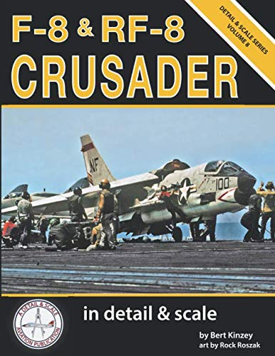 F-8 & RF-8 Crusader in Detail & Scale (Detail & Scale Series) (Usaf F-16)