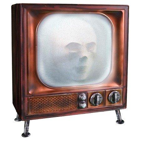 Animated Haunted Halloween TV Prop (Halloween Tv)