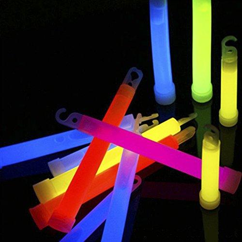 Ezyoutdoor Pack of 10 pieces Light Stick Glow Sticks SpotOn ChemLight 8 Hours Emergency Safety Chem Light Sticks Snaplights Random Color by ezyoutdoor (Image #8)
