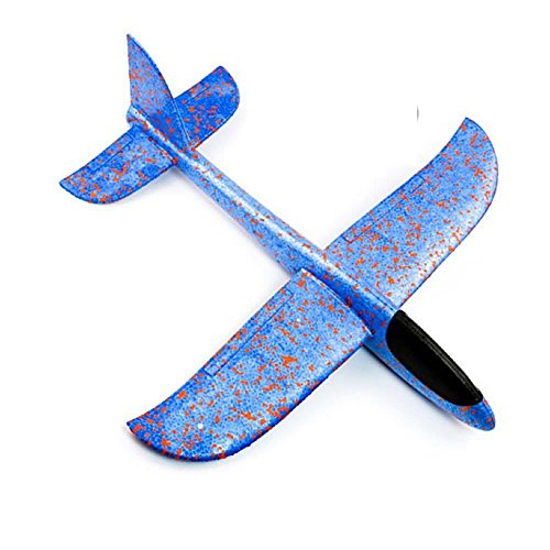 Huiee Hand Launch Glider Planes Airplane Model Plane Toy 480MM Wingspan Kids Adult Toys Outdoor Sport ()