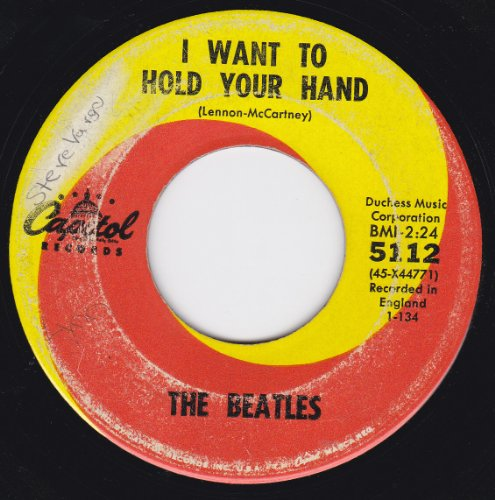 The Beatles - I Want To Hold Your Hand/i Saw Her Standing There (7