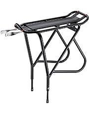 Sparen Sie auf Ibera PakRak Fahrrad Touring Carrier Plus +, Frame-Mounted für schwerere Top & Side Lasten, höhenverstellbar, Fender Board, für 66cm–Frames