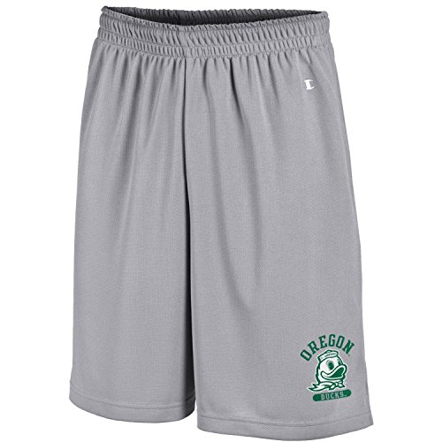 Champion NCAA Oregon Ducks Men's Men's Classic Team Mesh Short, Medium, Gray (Mens Oregon Shorts)