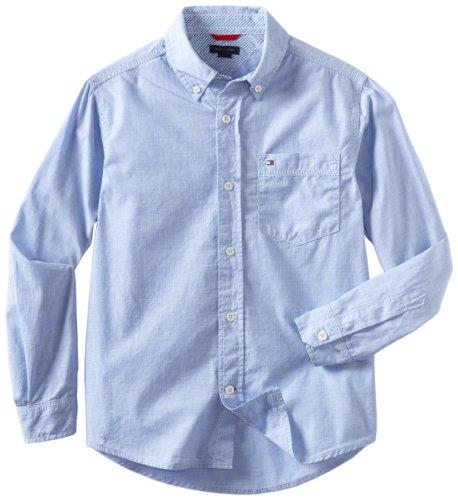 oys' Vineyard Long Sleeve Woven Shirt, Summit Blue, Large ()