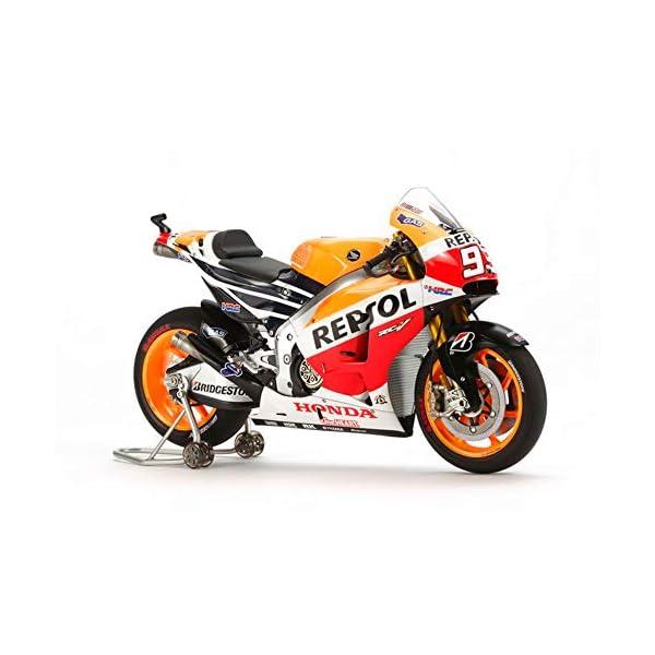 TAMIYA 14130 1/12 Repsol Honda RC213V '14 Motorcycle Plastic Model Kit 1